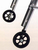 Kaye Products Optional Silent One-way Rear Wheels (Upgrade) - click here to enlarge