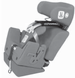 Convaid Seat Angle Adjustment Wedge - click here to enlarge