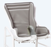 R82 Swan Chair Upholstery Lining, Choose Size  - click here to enlarge