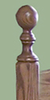 Beds by George Turned Corner Posts – Set of 4 - UPGRADE - click here to enlarge