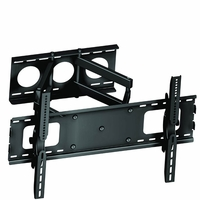 "* 32"" to 63"" LCD/Plasma HDTV Swivel Dual Arm Wall Mount Bracket (WALLMWA3D)"