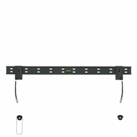"*47"" to 63"" Thin LCD HDTV Low Profile Fixed Slim Wall Mount Bracket (WALLLED28)"