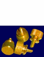 Annodized Gold Thumbscrews (2 pair, 4 pieces)