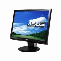 Asus (VH196T-P) LCD 19 inch WideScreen DVI/HDCP LCD Monitor w/ Speakers (Black)