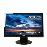 Asus (VH222H-P) LCD 21.5inch Wide DVI FullHD HDMI HDCP 5ms Speaker Black Bare