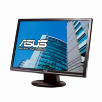 Asus (VW224T) LCD 22 inch WideScreen 16:10 5ms DVI LCD Monitor w/ Speakers (Black)