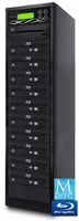 Bestduplicator (BD-BR-10T) 1-to-10 Target 16X M-Disc/BD-R/DVD/CD Blu-Ray Duplicator with Smart USB Connection
