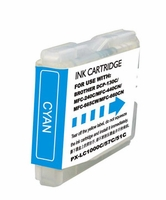 Compatible (PLC-51C) Cyan Ink Cartridge - Replaces Brother LC51C
