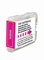 Compatible (PLC-51M)  Magenta Ink Cartridge - replaces Brother LC51M