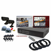 DIY Surveillance DVR Package (4 - 16 Channels)
