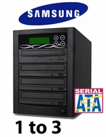 Bestduplicator 3 Target 24x SATA DVD Duplicator with Samsung Reader (1 to 3)