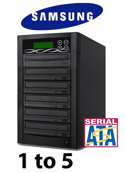 Bestduplicator 5 Target 24x SATA DVD Duplicator with Samsung Reader (1 to 5)
