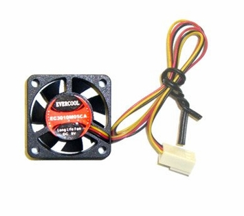 Evercool - EC3010M05CA - 30x10mm 5 volt fan with 3-pin connector