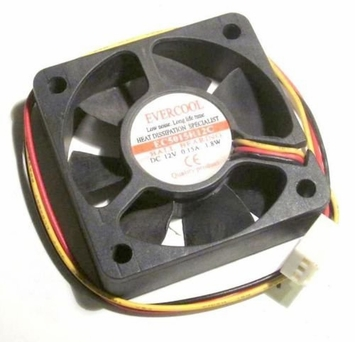 Evercool - EC5015H12C - 50x15mm fan with 3-pin connector