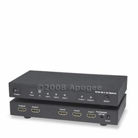 HDMI 3x2 HD Digital Mirror Switcher Splitter v1.3 w/ 35m Signal Repeater Equalized Chipset (HDMIMX32)