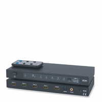 * HDMI 4x1 Switcher v1.3b w/ Separate SPDIF COAX Toslink Audio Output Channel, Sku: HDMISW4HF