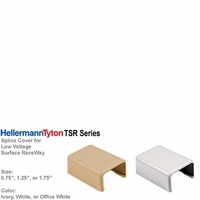 HellermannTyton TSR Series Surface Cable Raceway Extension Coupler (Splice Cover)