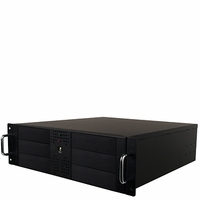 Hercules (CS-HER-RAMT6B) 6 Bay 3U Rackmount Duplicator Case  with Sata Power Supply - Support 1to4 Target (Black)