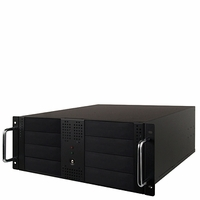 Hercules (CS-HER-RAMT8B) 8-Bay 4U Rackmount Duplicator Case with Sata Power Supply - Support 1to6 Target (Black)