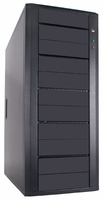 Hercules (CS-ILY-HER11/BSA) 11 Bay SATA CD/DVD Duplicator Case - Support 1 to 9 Target with 400W Power Supply (Black)