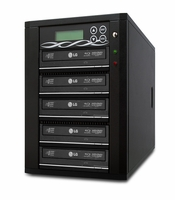 ILY (B05-SSPPRO) SpartonPro SATA Blu Ray DVD/CD Duplicator - 5 Target with 500GB HDD + USB