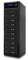 ILY Spartan (MD-8110) MD-800 Pro Flash Memory Duplicator - 1 to 10 Target Pro Multimedia Backup Center