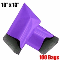 iMBAPrice® 100 - 10x13 HOT PURPLE Color Poly Mailers Shipping Envelopes Bags (Total 100 Bags)