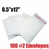 *on backorder* iMBAPrice 100 Count - #2 - 8.5x12 Poly Bubble Mailer Padded Envelopes (iMBA-PB-2-100)