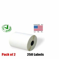 iMBAPrice® 2 Rolls of 250 (USA MADE) 4x6 Direct Thermal Label
