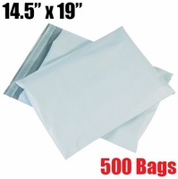 *backordered* iMBAPrice 500 - 14.5x19 Premium Matte Finish White Poly Mailer Envelopes Bags (iMBA-6PM-500)