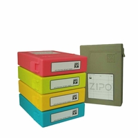 """iMBAPrice® Zippo 3.5"""" Stackable Hard Drive Protector Cases"""
