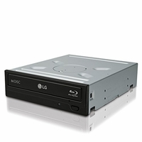 LG Electronics - WH14NS40 - 14x Internal BDXL Blu-Ray Burner Rewriter - Bulk Drive - Black