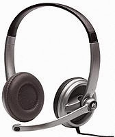 * Logitech 981-000084 ClearChat Premium PC Headset, w/ Microphone and Volume Control