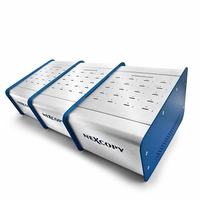 Nexcopy (SD600PCM) microSD Duplicator with 60 miniSD & 60 micoSD Certified Adapters - PC Based
