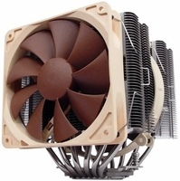 Noctua - NH-D14 6 Dual Heatpipe with 140mm/120mm Dual SSO Bearing Fans CPU Cooler
