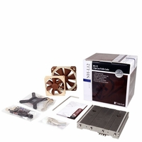 Noctua NH-L12 Low-profile Quiet CPU Cooler with 120/90mm Dual PWM Fan