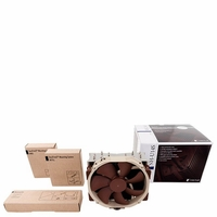Noctua - NH-U14S for Intel LGA 2011,1156,1155, 1150 and AMD AM2/AM2+/AM3/3+,FM1/2 Sockets, U Type, 6 Heatpipe,140mm CPU Cooler