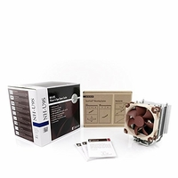 Noctua - NH-U9S Premium Quality Quiet CPU Cooler for Intel LGA 2011,1156,1155,1150 and AMD AM2/AM2+/AM3/3+,FM1/2 Sockets