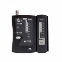 Syba LAN Cable Tester for UTP, STP, Coaxial, and Modular Cables