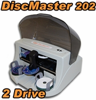 SySTOR DiscMaster 202 Automated 2 Burner CD DVD Publisher + 100 Disc Kiosk Kit