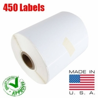 iMBAPrice® 1 Roll of 450 (USA) 4x6 Direct Thermal Label