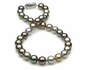 10.13x11.39mm Multicolor Tahitian Necklace