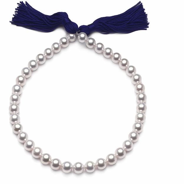 10 x 11.5mm White Pearl Necklace - 16
