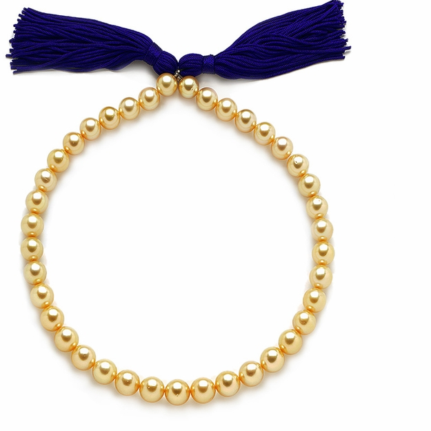 10 x 11.7mm Golden Pearl Necklace - 16