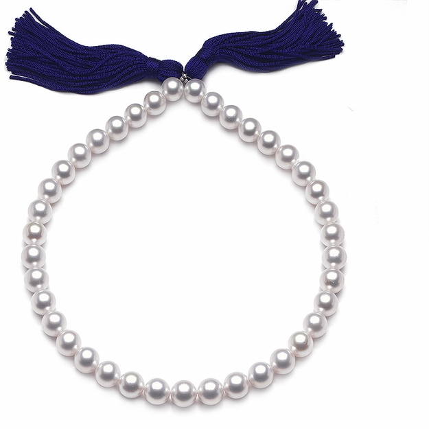 10 x 11.9mm White Pearl Necklace - 16
