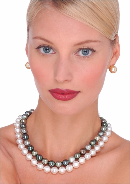 10 x 11mm South Sea Culture Pearl Necklace - 16 inches