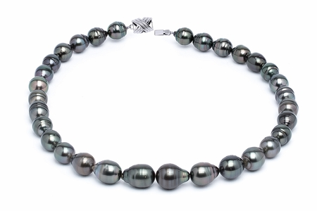 10 x 12mm Tahitian Pearl Necklace Serial Number | s11-dark-color-b38
