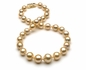 10 x 14.5mm Golden South Sea Necklace