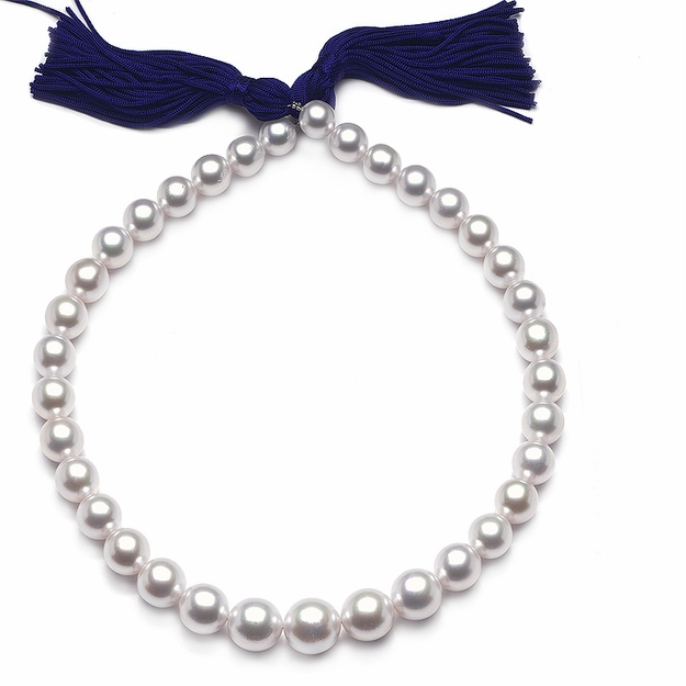 10 x 15mm White Pearl Necklace - 16