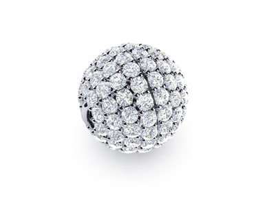 10mm Diamond Ball Clasp